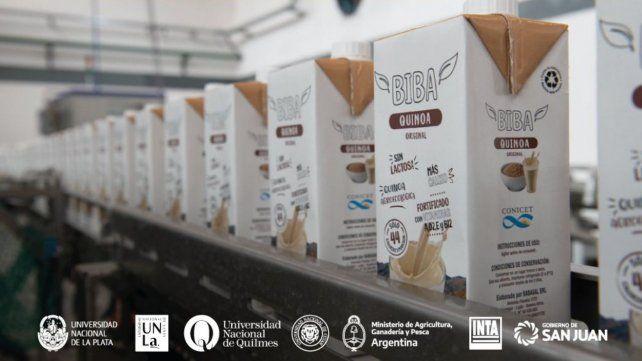 Con apoyo del Conicet, lanzaron el primer alimento bebible a base de quinoa