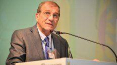 Fernando Rivara, de la Federación de Acopiadores, que organizó el congreso.