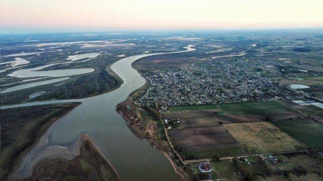 La bajante del río Paraná es la peor desde 1944.