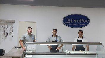 En Venado Tuerto está la carnicería donde Pochettino integró la cadena desde la producción.