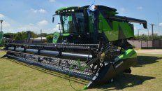 Metalfor lanzó una nueva cosechadora 100% nacional