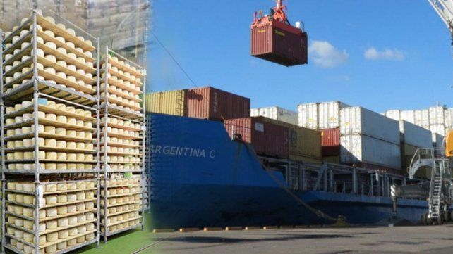 Empresarios lácteos en alerta por la falta de contenedores para exportar