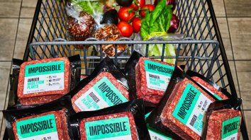 Hamburguesas vegetales con gusto a carne: la innovación en la industria alimentaria que llegó a las góndolas.