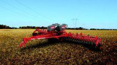 Las sembradoras fueron la estrella, con un incremento en las ventas del 35% el año pasado.