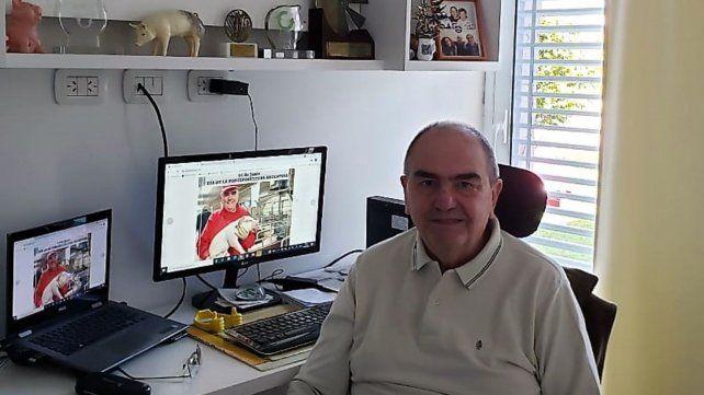 """El productor Raúl Lasorella considera que """"deberíamos producir en Argentina""""."""