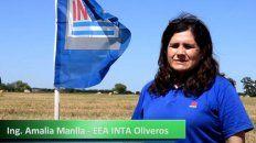 La especialista de Inta Oliveros, Amalia Manlla, dio recomendaciones para encarar la siembra fina.
