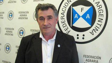 Carlos Achetoni, presidente de Federación Agraria Argentina.