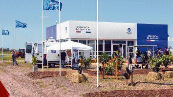 Apoyo. El stand de la provincia contó con la participación de empresas de diferentes rubros.