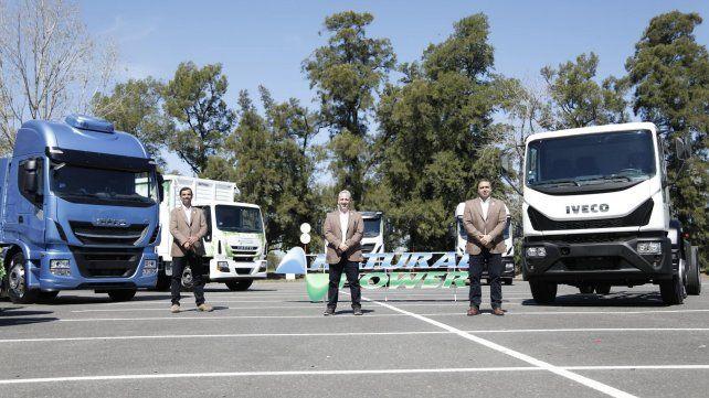 Apuesta nacional. La renovación del camión responde a un cambio de la matriz energética en la región.