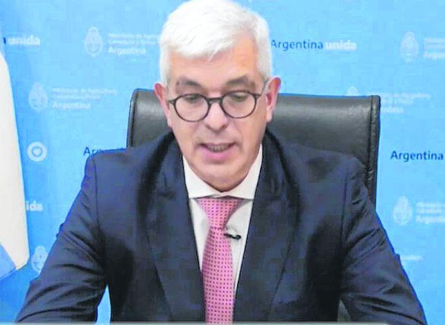 El ministro Domínguez respaldó las demandas del sector.