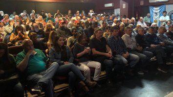 Representativa. La asamblea que se realizó el miércoles en Rosario reunió a la mayoría de las filiales de la Pampa Húmeda.
