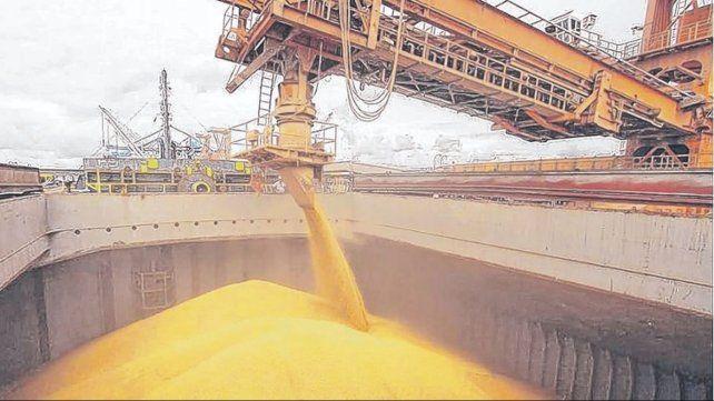 El volumen exportado entre los diferentes complejos agroindustriales totaliza cerca de 43 millones de toneladas