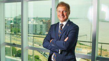 Andrés Ponte, presidente del Matba Rofex, valoró la mesa de diálogo.