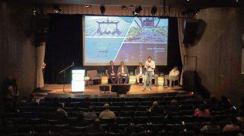 Tech. Durante el panel se presentaron los últimos desarrollos sobre aplicaciones selectivas de agroquímicos.