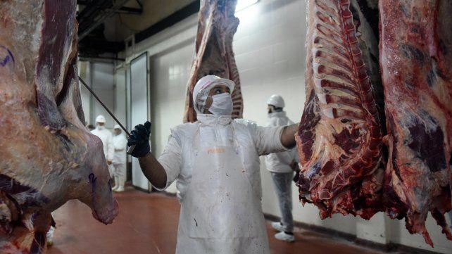 Exportaciones. Los frigoríficos cuestionaron la suspensión decidida por el gobierno nacional.