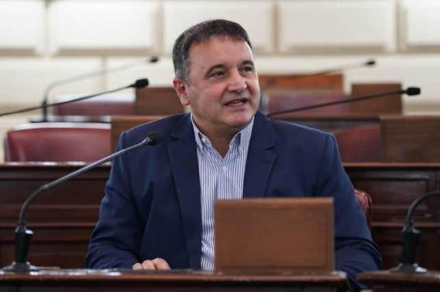 El diputado Marcelo González, presidente de la Comisión de Agricultura y Ganadería de la Cámara de Diputadas y Diputados de Santa Fe.