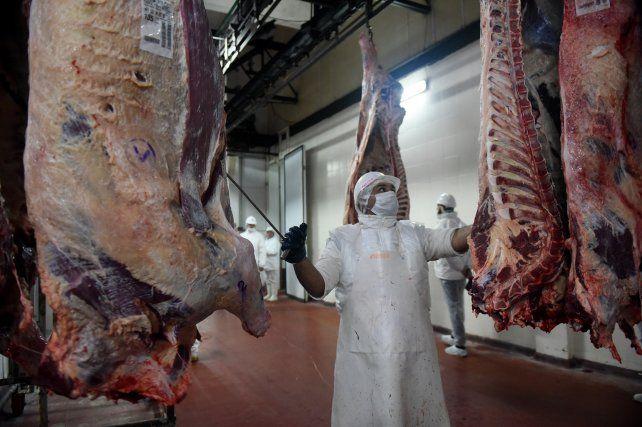 La producción de carne para consumo fue la más baja de los últimos 18 años