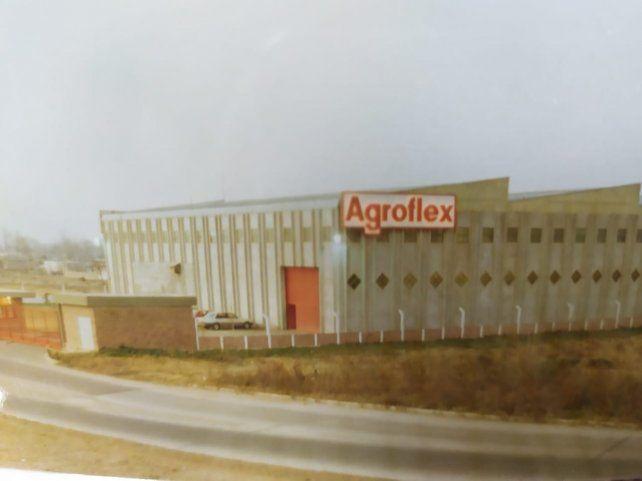 Retro. La planta de Agroflex se construyó en 1987
