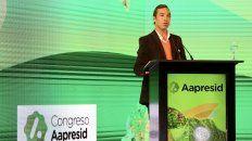 El presidente de Aapresid, David Roggero, dijo que apuntan a contenido de vanguardia y mucha interacción en este congreso.