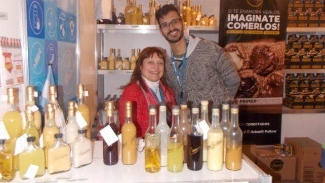 Presente. Norma Gailus participa con su emprendimiento en Mercado Libre a través de Origen Santafesino.